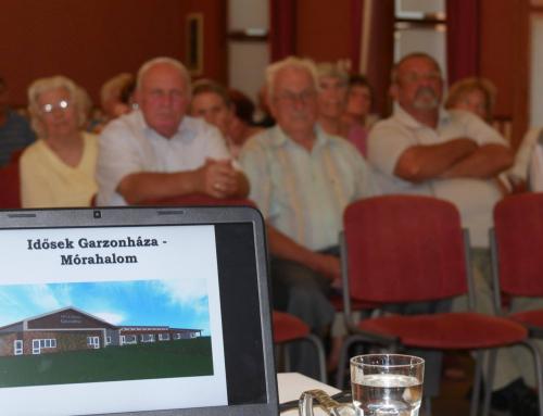 Idősek garzonháza épülhet Mórahalmon